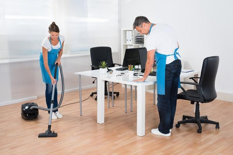 office cleaning in Sacramento, CA